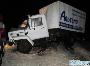 В Тихорецком районе при столкновении автомобилей погиб мужчина