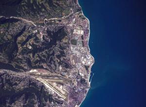 Космонавт показал Сочи с вида борта МКС