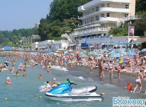 Краснодарский край примет 12 миллионов туристов