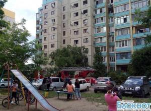 В Краснодаре потушен пожар на улице Дзержинского
