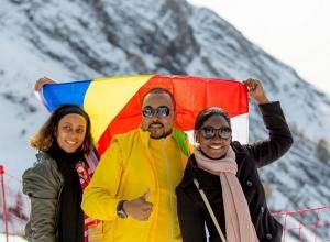 Участники Всемирного фестиваля молодежи оценили всю прелесть сочинских гор