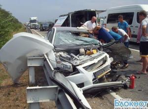 В Краснодарском крае в аварии погиб водитель «Шевроле»