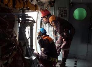 Фаза активного поиска экипажа затонувшего в Черном море сухогруза завершена