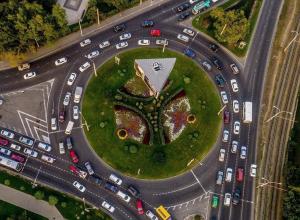 Решить проблему пробок перед «Зиповским кольцом» обещают власти Краснодара