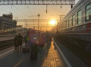 Португальские болельщики в Краснодаре сели на поезд «Пермь-Адлер»