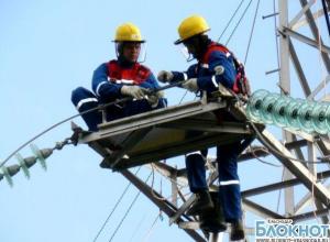 Кубанские энергетики продолжают бороться с последствиями стихии