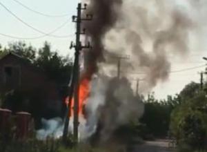 Жители дачного поселка под Краснодаром остались без света и воды из-за пожара на подстанции
