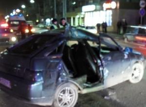 Из-за молодого водителя в Новороссийске пострадали два человека