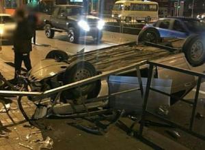 В Краснодаре пьяный водитель ВАЗ 2110 устроил массовое ДТП и сбежал