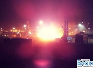 В Новороссийске произошел пожар