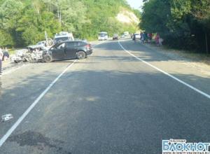 В Геленджикском районе в аварии погибли два человека