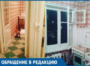 Сирота и многодетная мама из Краснодара возмущена состоянием квартиры, предоставленной администрацией