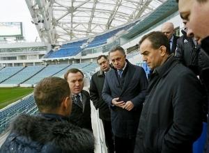 Вице-премьер Виталий Мутко провел инспекцию сочинского стадиона «Фишт»