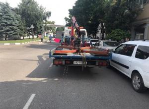 В Краснодаре жители предложили эвакуировать эвакуаторы