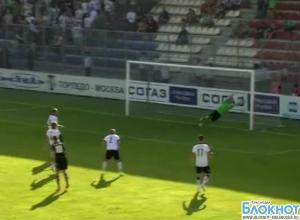 ФК «Краснодар» победил «Торпедо» со счетом 3:0