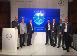Мерседес-Бенц Центр Аэропорт КЛЮЧАВТО в Краснодаре стал лучшим дилером по итогам 2016 года