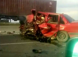 Два человека погибли в аварии с тремя машинами в Абинском районе