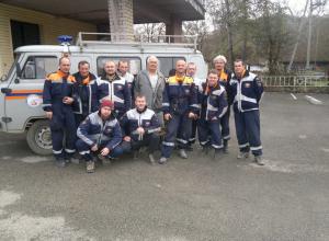 Спасатели после длительных поисков нашли в горах пенсионера из Адыгеи