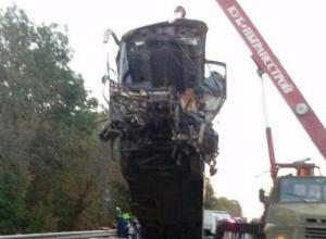 Появились фотографии и видео с места аварии под Горячим Ключом