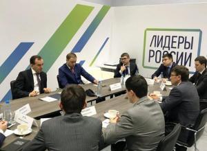 Кондратьев пожелал удачи участникам конкурса «Лидеры России» от Кубани