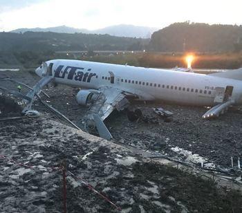 Прокуратура и следственный комитет проверят аварийную посадку и возгорание самолета в Сочи