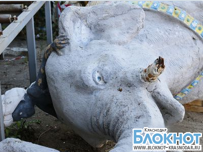 Жителям Краснодара предлагают купить слона
