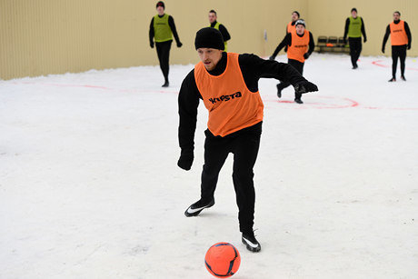 Хавбек «Краснодара» Мамаев забил 7 голов в матче в «Бутырке»
