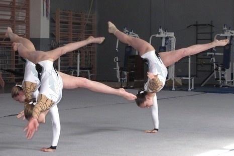 150 кубанских акробатов выступили на Всероссийских соревнованиях