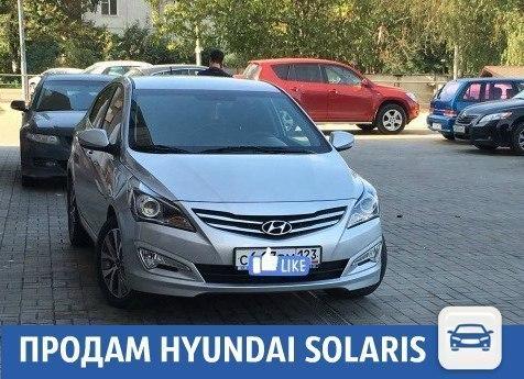 В Краснодаре продается Hyundai Solaris