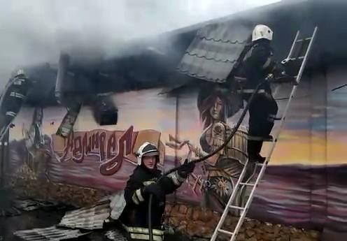 Кафе на Солнечном острове Краснодара полностью сгорело