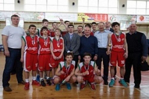 Юношеская сборная Кубани по баскетболу стала чемпионом России