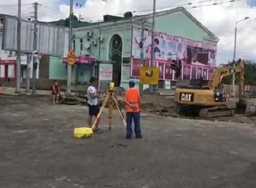 Ремонт в центре Краснодара стал неожиданностью для водителей