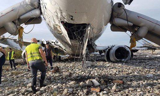 Пассажир загоревшегося самолета в Сочи подробно рассказал о произошедшем