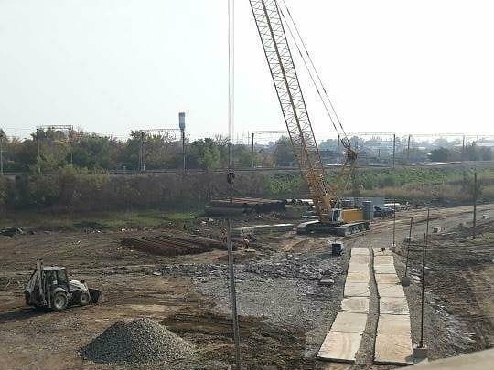 Началось строительство нового Яблоновского моста в Краснодаре