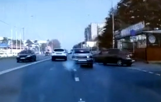 Появились подробности жесткой аварии на улице Российской в Краснодаре