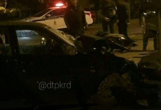 ВКраснодаре при столкновении сэвакуатором умер шофёр «Приоры»