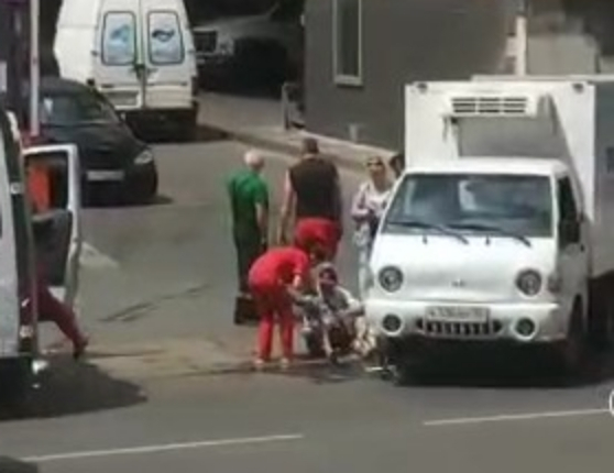 Водитель «Табриса» сбил велосипедиста в Краснодаре