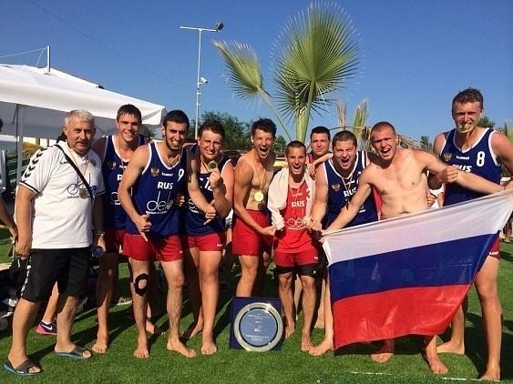 Краснодарские «скифы» стали чемпионами Европы по пляжному гандболу