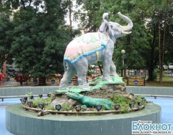 В Краснодаре принято решение заменить  скульптуру «Мальчика со слоном»