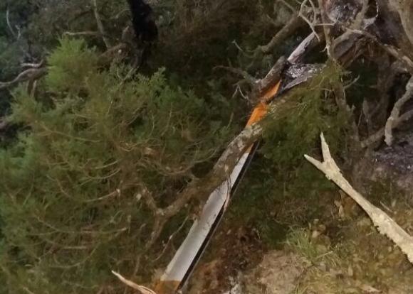 Ущерб от упавшего под Анапой вертолета оценен в 44 млн рублей