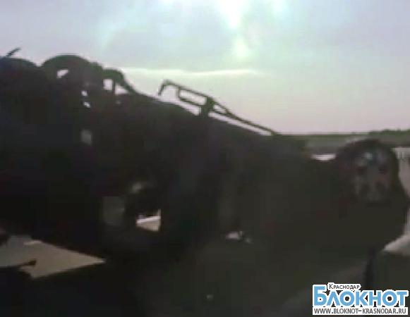 На въезде в Краснодар произошла авария