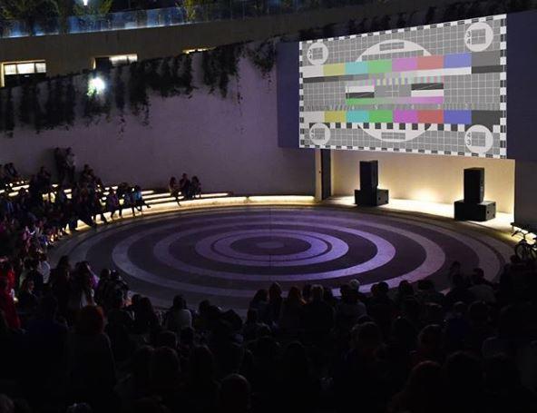 В парке Краснодара меняют экран, но Галицкого просят сменить зрителей
