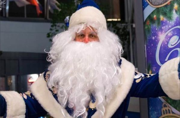 Дед Мороз попросил жителей Краснодара рассчитаться с долгами за услуги ЖКХ