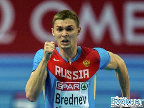 Краснодарский спринтер Александр Бреднев завоевал «серебро» чемпионата России