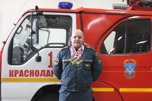 Пожарный из Краснодара стал абсолютным чемпионом Европы