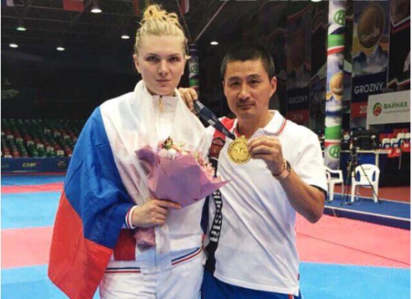 Кубанская спортсменка завоевала золото первенства Европы по тхэквондо