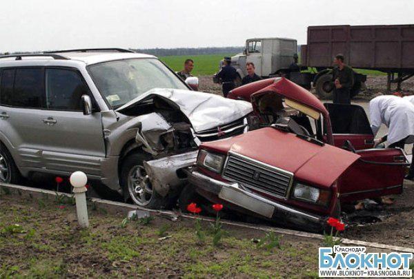 Краснодарский край занял второе место по количеству смертей на дорогах