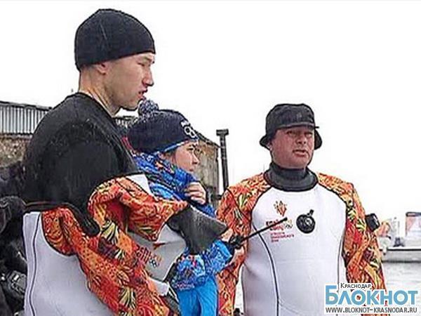 Олимпийский огонь погрузится на дно озера Байкал
