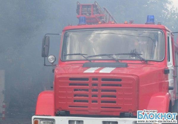 При пожаре в Гулькевичском районе погиб мужчина