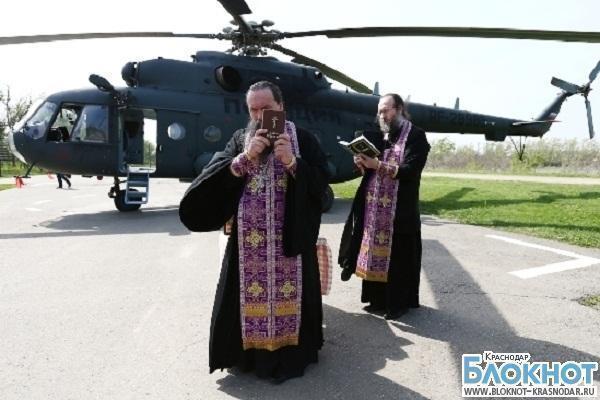 Над Краснодаром совершили воздушный крестный ход